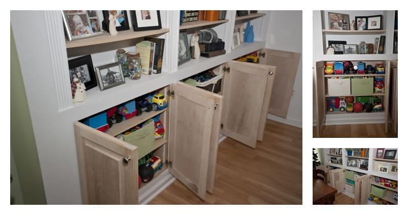 Using Your Resources: How to Make Dead Space Work for You - Cabinet Storage