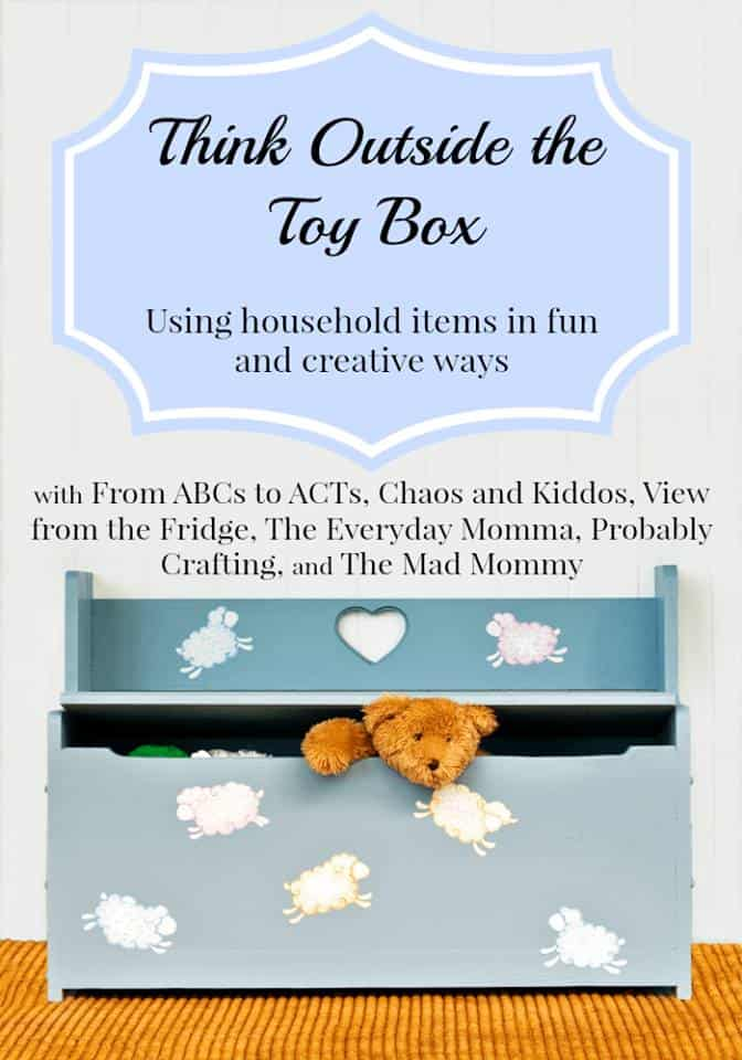 Think Outside the Toy Box Summer Series | Chaos & Kiddos: Mommy's Survival Guide