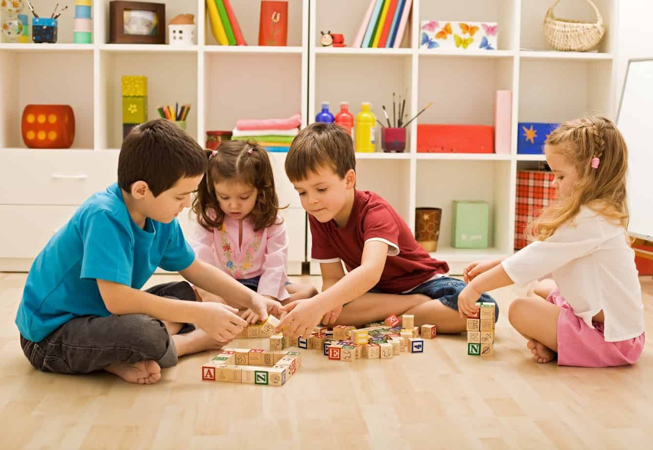 Purposeful Parenting - Children Playing Blocks Together - Cause and Effect