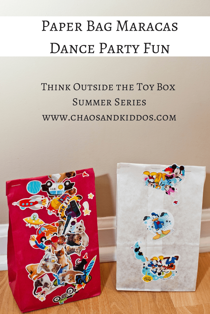 Think Outside the Toy Box Summer Series: Paper Bag Maracas