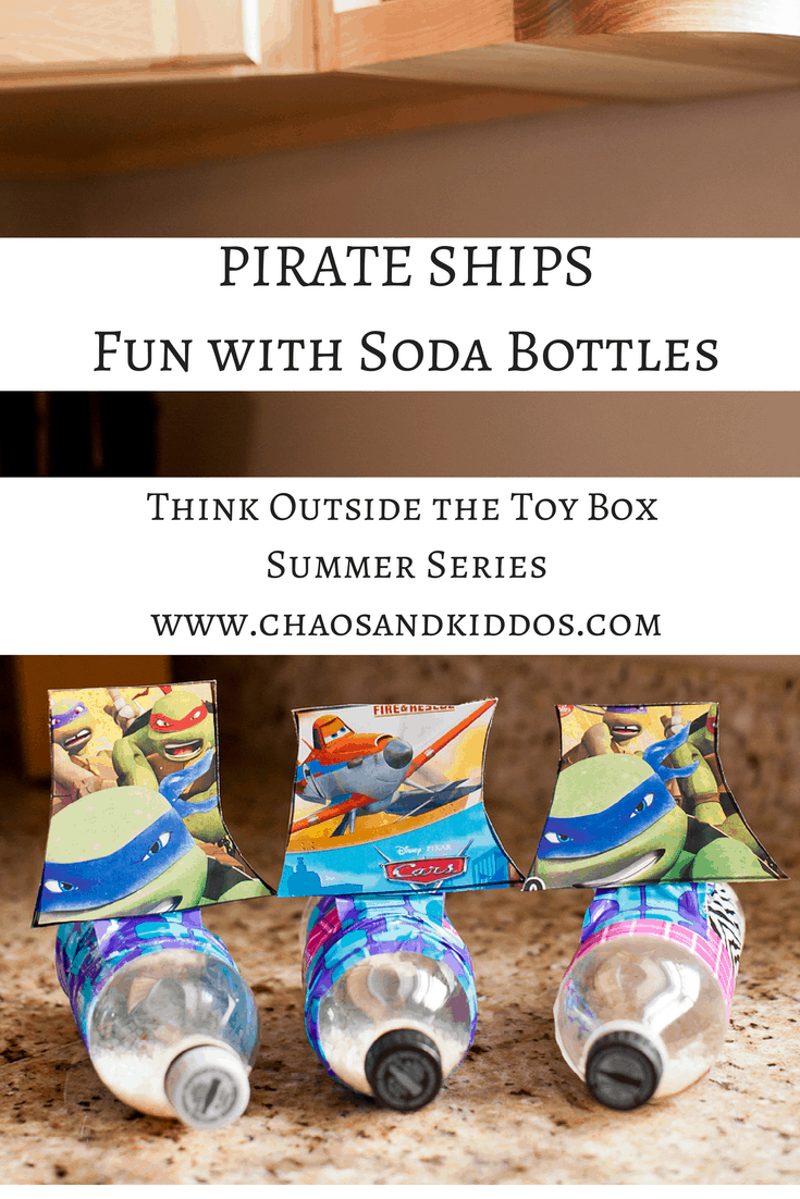 Think Outside the Toy Box Summer Series: Plastic Soda Bottles