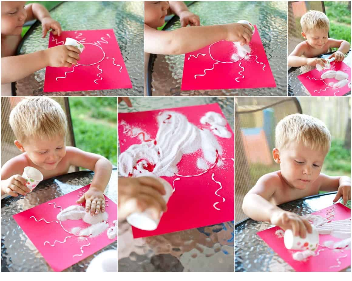 Think Outside the Toy Box Summer Series: Kool-Aid Sprinkle Art