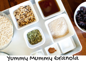 Yummy Mummy Granola | Chaos & Kiddos: Mommy's Survival Guide
