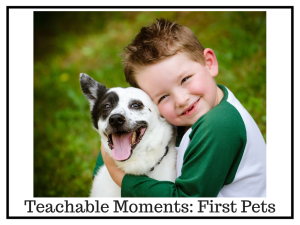 Teachable Moments | First Pets | Chaos & Kiddos: Mommy's Survival Guide