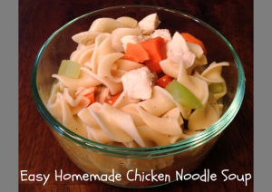 Easy Chicken Noodle Soup | Recipe | Somer Cooks