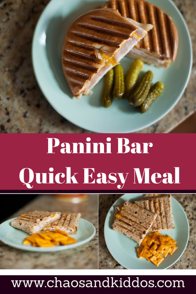 Panini Bar | Kids in the Kitchen | Chaos & Kiddos