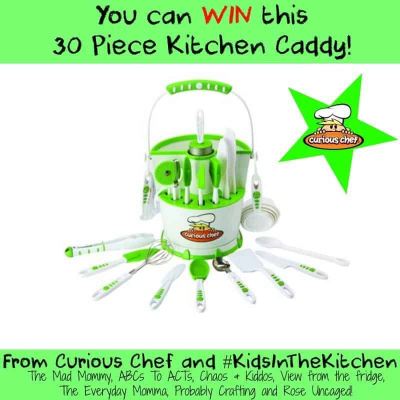 Giveaway | 30 Piece Kitchen Caddy | Curious Chef