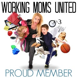 Working Moms United | Proud Member | Chaos & Kiddos