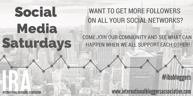 Social Media Saturday | IBA Link up