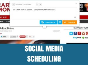 Social Media Scheduling | Better Blogging