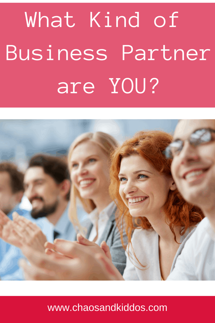 What Type of Business Partner Are You?