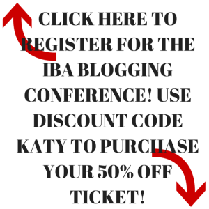 IBA Blogging Conference | Discount Code