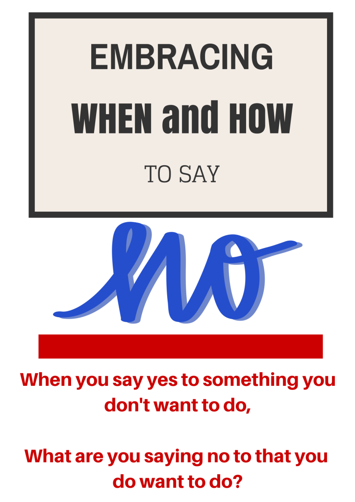 Learning When and How to Say No | Chaos & Kiddos