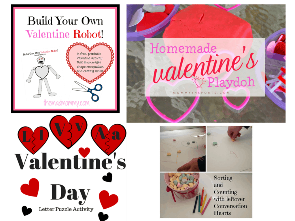 Valentine Crafts | Chaos & Kiddos | Round Up