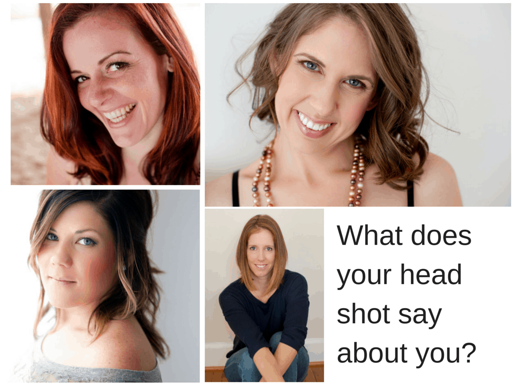 What does your head shot say about you-