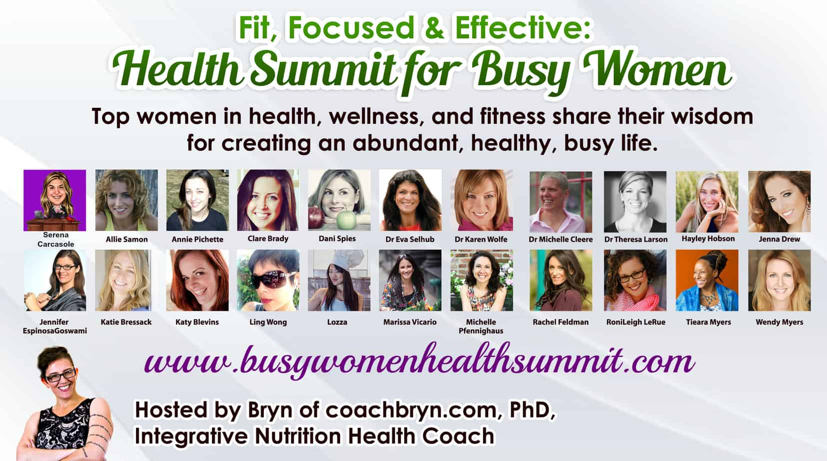 Fit, Focused & Effective: Health Summit for Busy Women