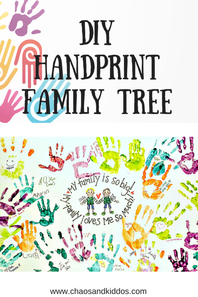 DIY Handprint Family Tree