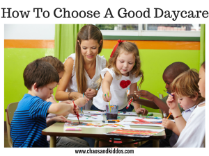 How to Choose a Good Daycare