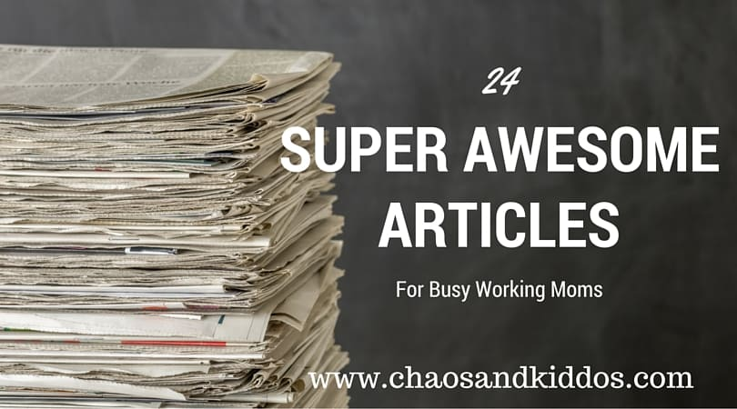 24 Super Awesome Articles